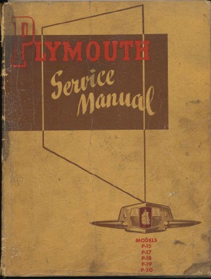 1950 Plymouth Shop Manual