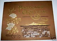 1914 Curt Teich Artgravure Photo Album Of Portland Oregon