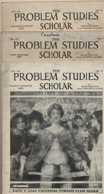 1930s Sunday School Magazines - Problem Studies Scholar