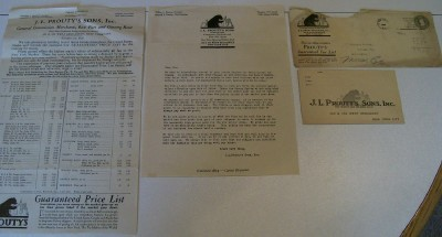 Trapping Trapper Lot - 1919 Prouty Fur Buyer Price List +