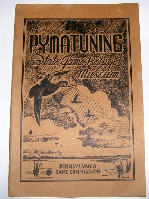 1941 Pymatuning PA Game Refuge & Bird Museum Guide Book