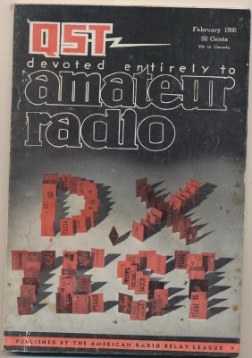 February 1960 QST Amateur Radio Magazine - ARRL - Ham Radio