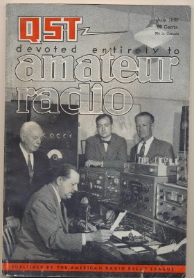 July 1959 QST Amateur Radio Magazine - ARRL - Ham Radio