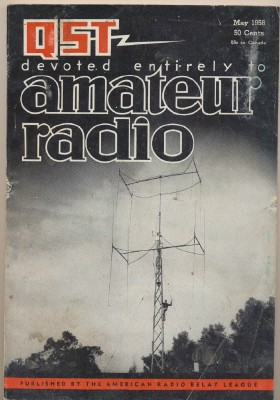 May 1958 QST Amateur Radio Magazine - ARRL - Ham Radio