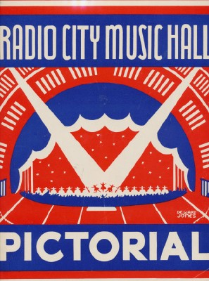 Vintage 1940s Radio City Music Hall Rockettes Pictorial Book