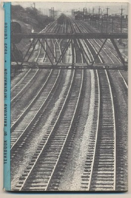 1959 Yearbook Of Railroad Information