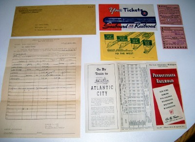 Railroad & Bus Lot - Tickets Timetable Route Map Army