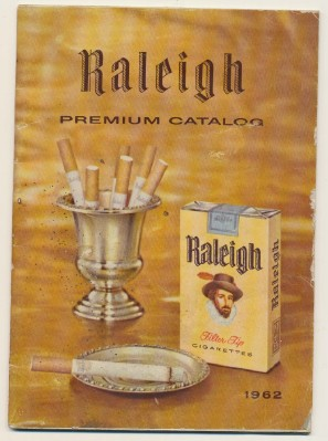 Vintage 1962 Raleigh Cigarettes Coupon Redemption Catalog
