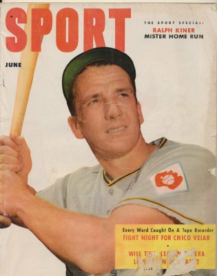 June 1952 Sport Magazine - Ralph Kiner Cover