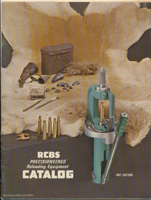 1967 RCBS Reloading Equipment Catalog + Dealer Price List