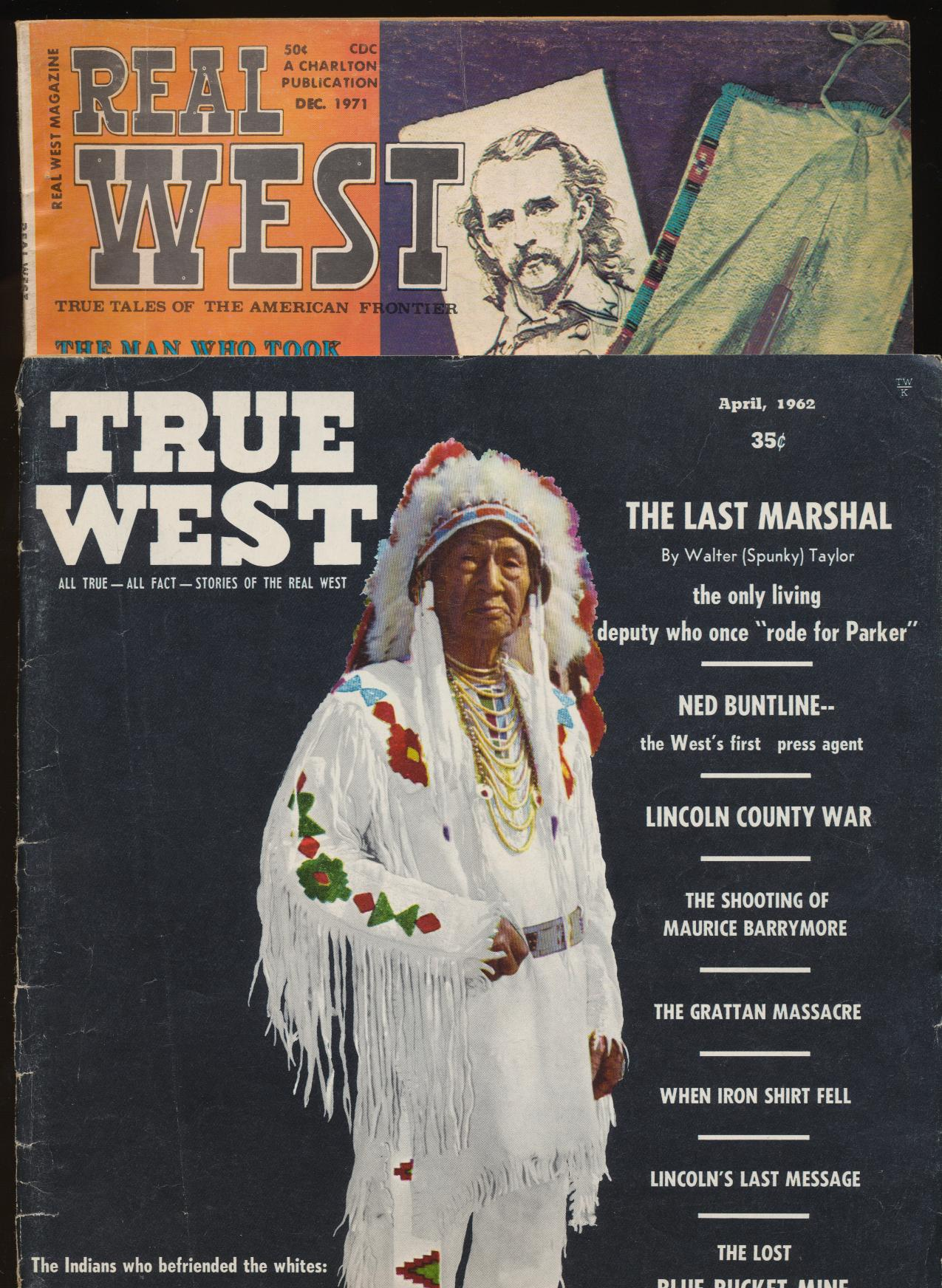 True West & Real West--Buntline Lincoln Chief Tendoy Jesse James