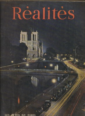 August 1950 Realites French Art & Photography Magazine