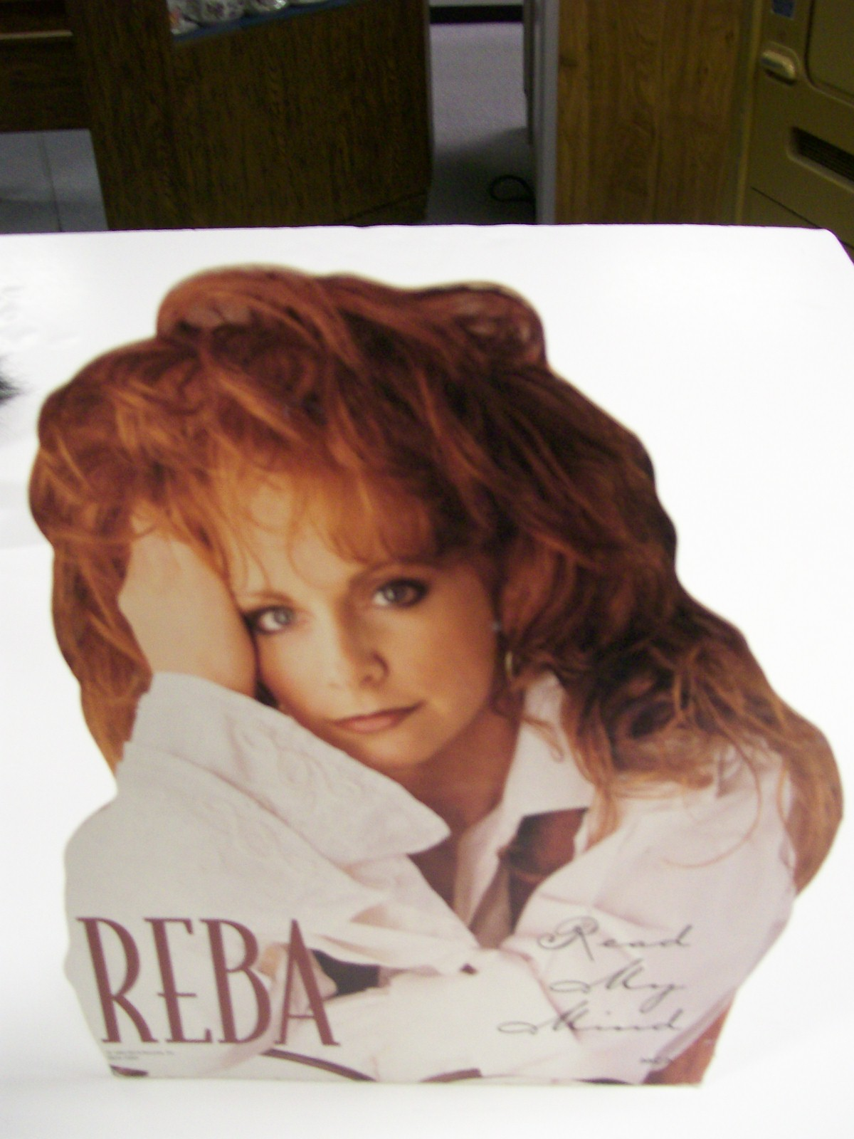 Reba McEntire Counter Standup for the LP Read My Mind 1994