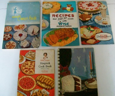 1936-1957 Advertising Recipe Cook Book Or Cookbook Lot