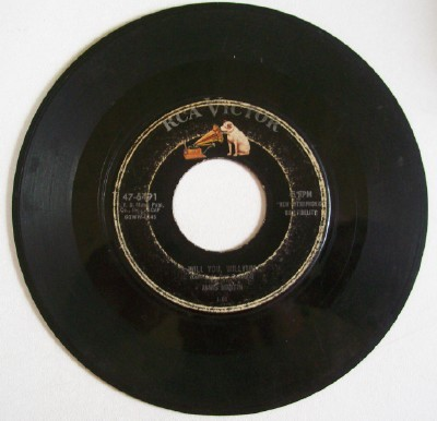 Drugstore Rock & Roll 45 Rockabilly Record By Janis Martin