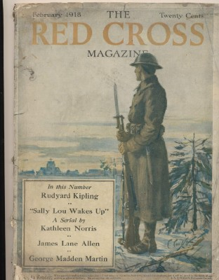 February 1918 World War I Red Cross Magazine - Rudyard Kipling