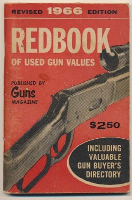 1966 Redbook Of Used Gun Values By Guns Magazine