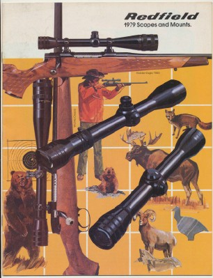 1979 Redfield Gun Scopes & Mounts Catalog