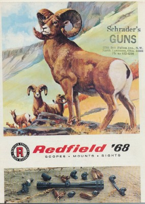 1968 Redfield Gun Sights Scopes Mounts Catalog