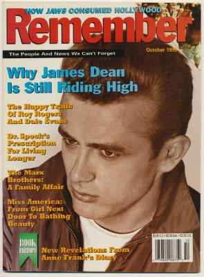 October 1995 Remember - James Dean Roy Rogers Marx Bros ++