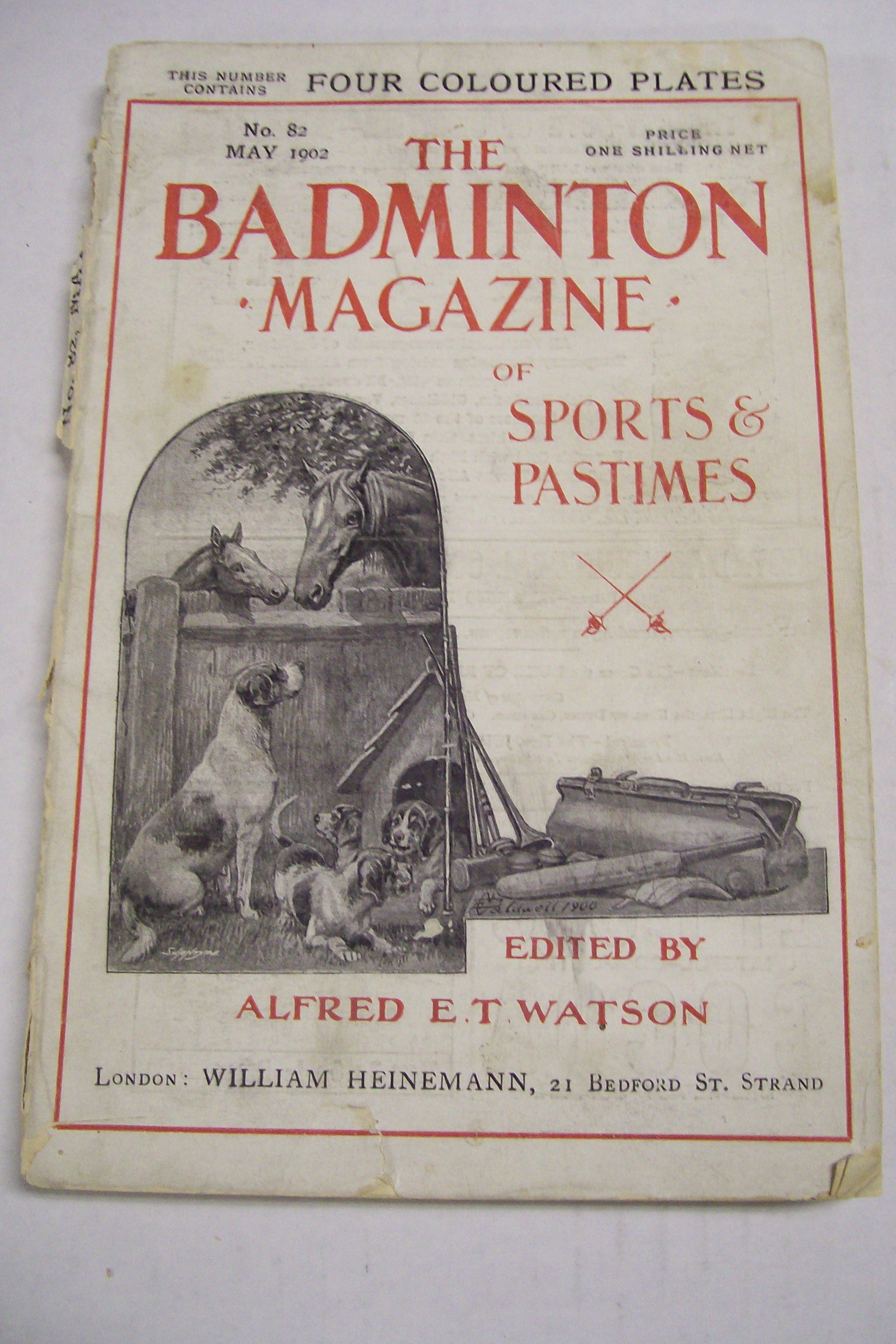 The Badminton Magazine of Sports & Pastimes May, 1902