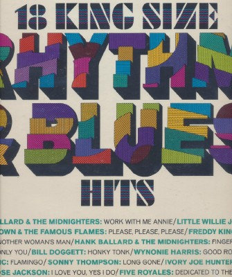 18 King Size Rhythm & Blues Hits - Columbia #CL 9467