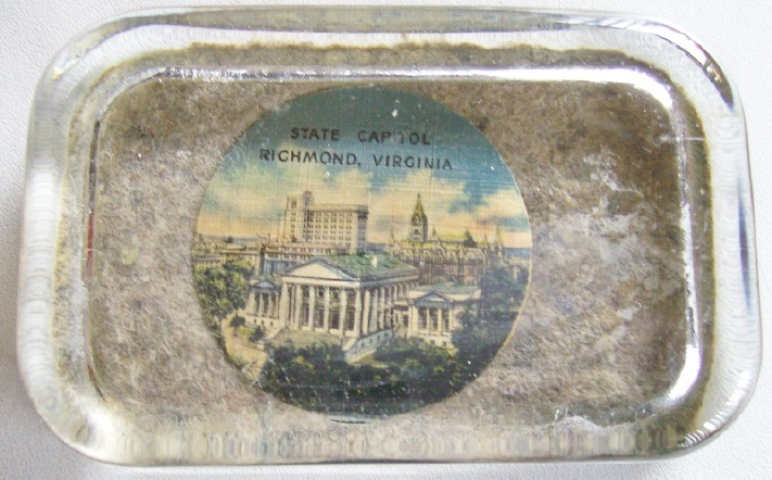 Vintage Paperweight From Richmond Virginia State Capitol