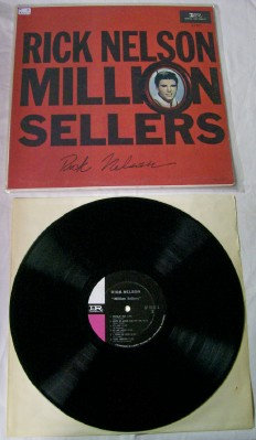 Rick Nelson Million Sellers LP - Autographed