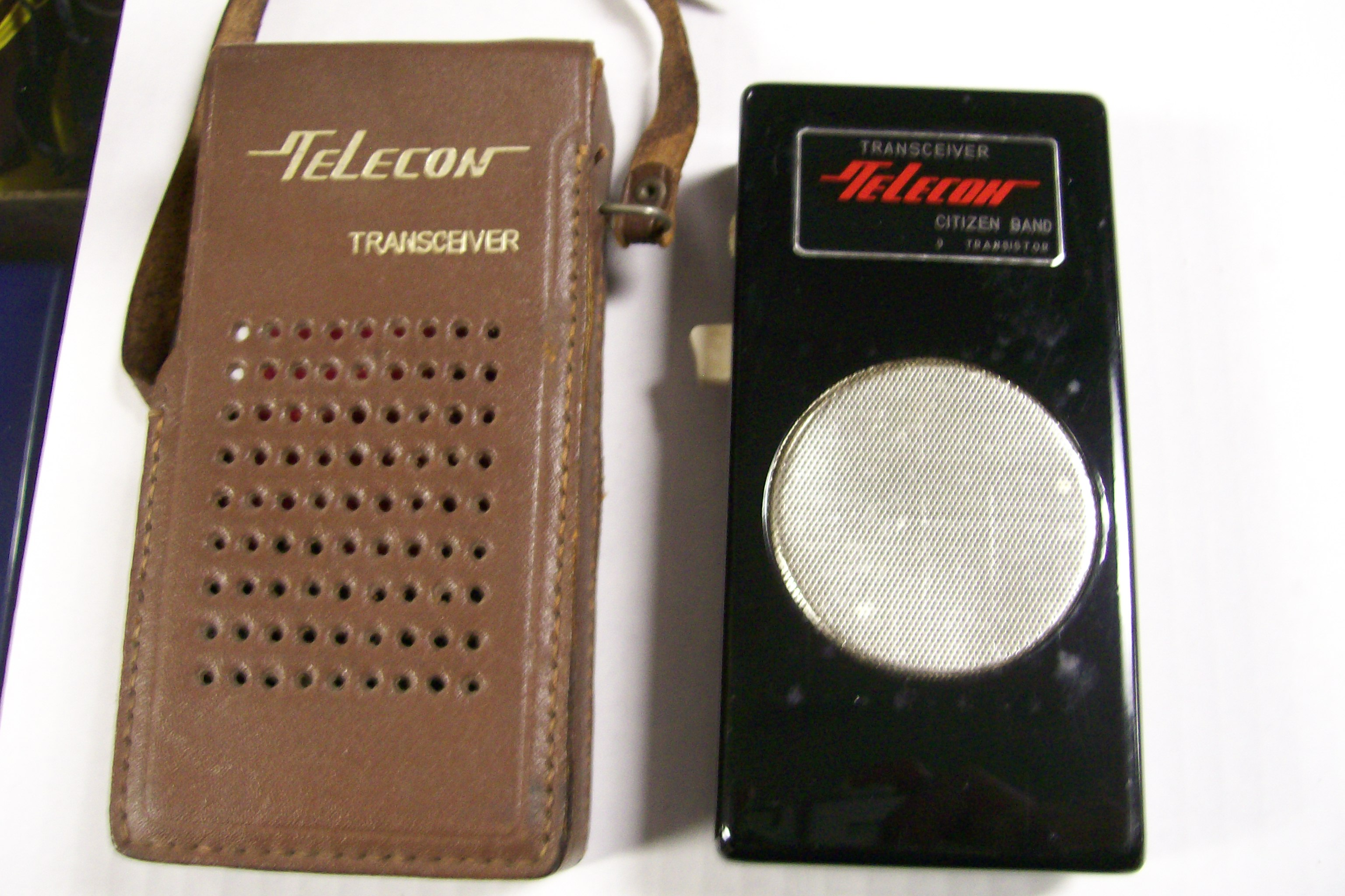 Telecon Transceiver Citizen Band 9 Transistor With case