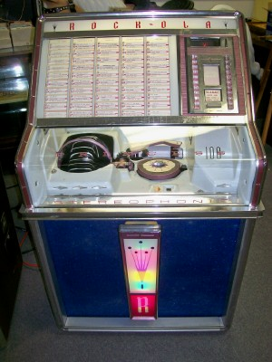 1959 Rock-Ola Princess Jukebox - Plays 45s & 33-1/3 EPs
