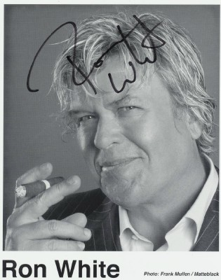 Autographed Photo Of Comedian Ron White