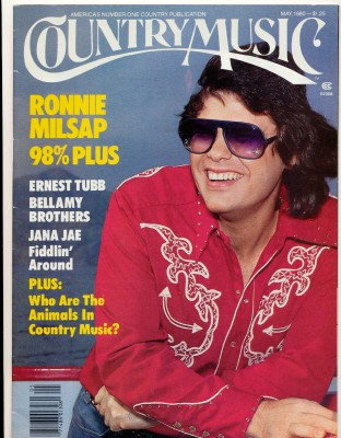 May 1980 Country Music Magazine - Ronnie Milsap