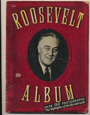 1945 FDR Franklin Delano Roosevelt Photo History