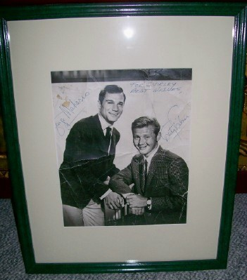 Route 66 George Maharis & Martin Milner Autographed Photo