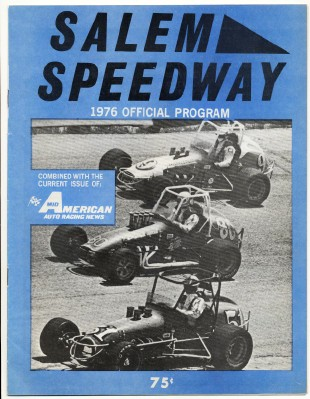 1976 Salem Speedway Sprint & Stock Car Racing Program