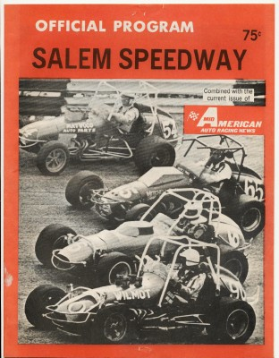1975 Salem Speedway Sprint & Stock Car Racing Program