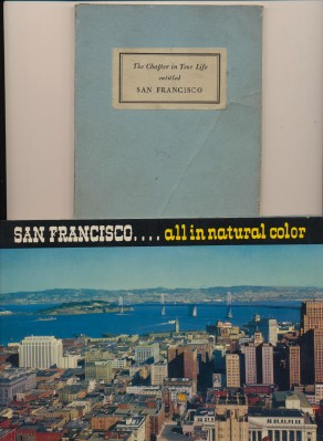 1946-50 San Francisco CA Tourism Promotional Books