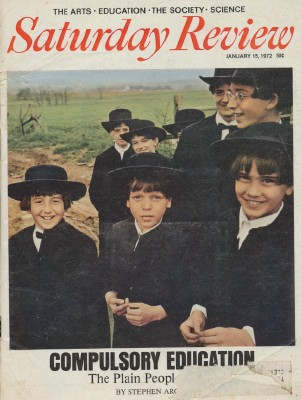 1972 Saturday Review - Amish Rebel Against Compulsory Education