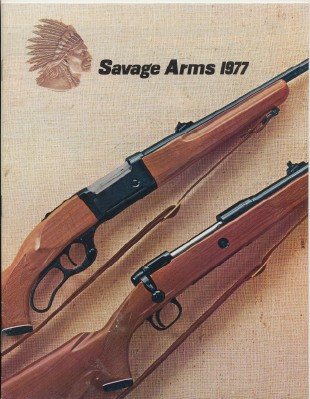 1977 Savage Arms Gun Catalog