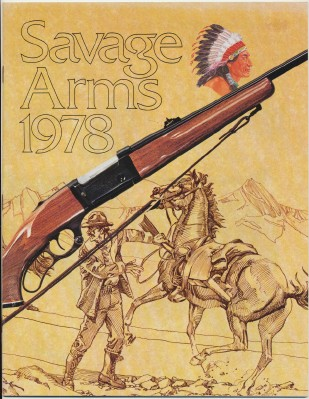 1978 Savage Arms Gun Catalog