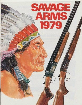 1979 Savage Arms Gun Catalog