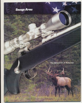 2004 Savage Arms Gun Catalog