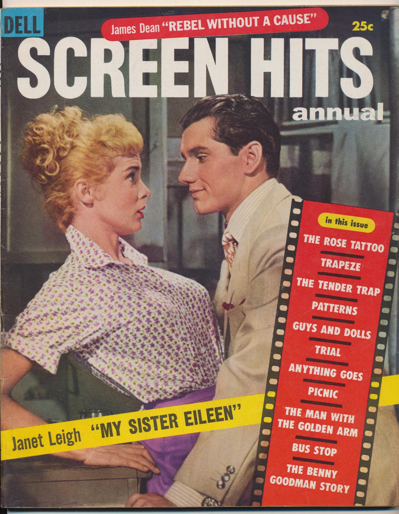 1956 Screen Hits Annual - James Dean Marilyn Monroe +++