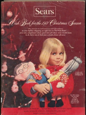 1971 Sears Christmas Wish Book Toy Catalog