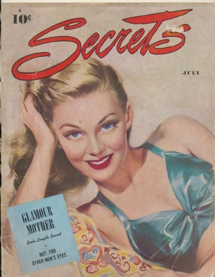 July 1947 Secrets Women's Mag--Articles By Groucho Marx D Malone