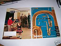 1958 Selmer Signet Bundy Band Musical Instrument Catalog