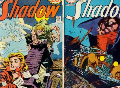 1974 20¢ Comic Books - The Shadow - Lot Of 2