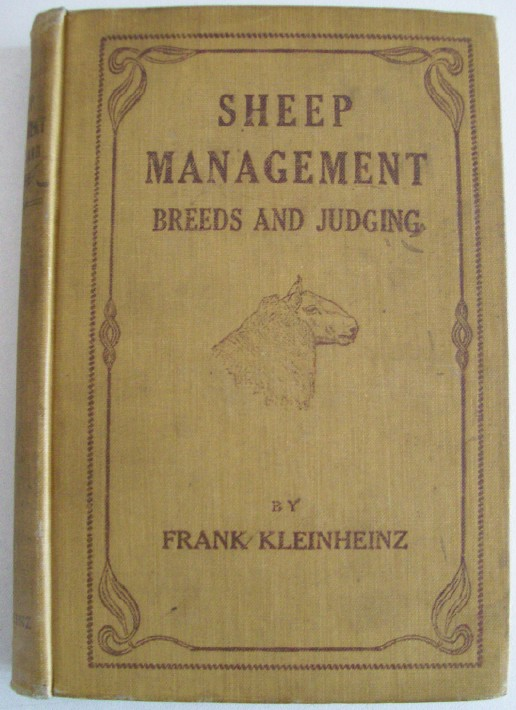 1916 Sheep Management Book For The Shepherd & Farmer