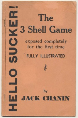 1934 Hello Sucker - Illustrated Exposure Of The Shell Game