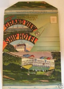 1946 Grand View Ship Hotel PC Folder - Lincoln Highway